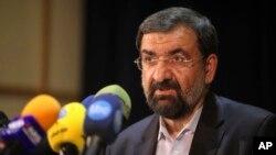 FILE - Mohsen Rezaei, May 7, 2013.