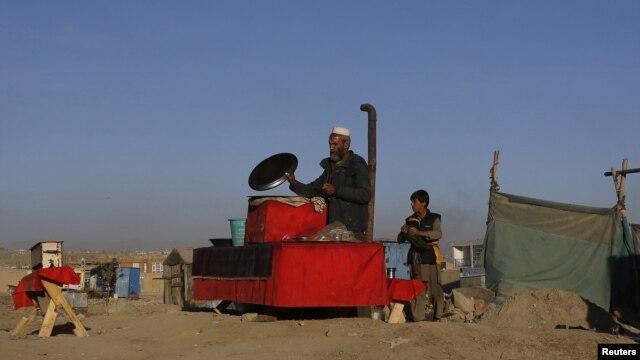 Những người buôn bán ngoài đường phố ở Afghanistan