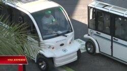 Tổng thống Biden thúc đẩy kế hoạch tăng sản xuất xe buýt điện