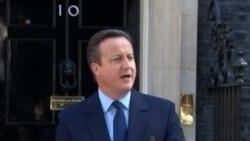 英國公投脫歐 首相卡梅倫辭職