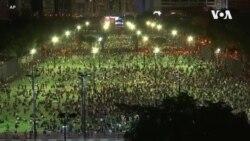 香港市民無懼打壓悼念六四31週年