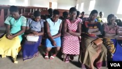 A group of women has come forward accusing police of sexual harassment, in Lilongwe. (Lameck Masina/VOA)