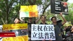 Các cuộc biểu tình vì dân chủ Hong Kong lan rộng trên thế giới
