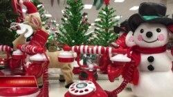 Người Mỹ tất bật chuẩn bị cho Giáng sinh cuối năm