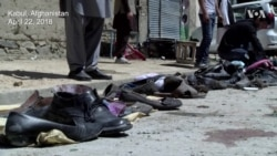 Dozens Dead in Kabul Voter ID Center Attack