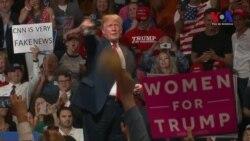 """Trump: Estados Unidos marcha """"sobre ruedas"""""""