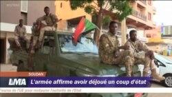 L'armée soudanaise affirme avoir déjoué un coup d'Etat