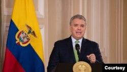 El presidente de Colombia, Ivan Duque, considera que la falta de información confiable y políticas efectivas convierten a Venezuela en una amenaza sanitaria para su país.