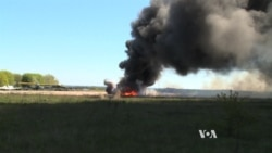 On The Scene: Ukrainian Military Helicopter Downed