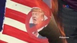 Biểu tình phản đối TT Trump nổ ra trên thế giới