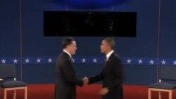 第二场总统辩论 奥巴马罗姆尼激烈交锋