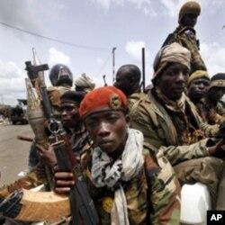 Les forces pro-Ouattara