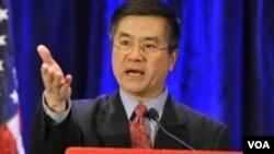 美美国驻华大使骆家辉(资料照片)