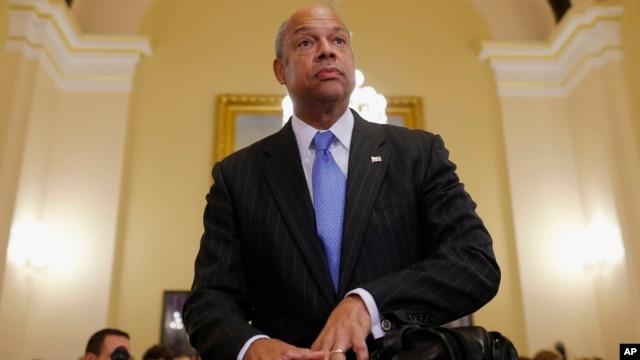 Menteri Keamanan Dalam Negeri Amerika Jeh Johnson (foto: dok).