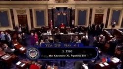 2014-11-19 美國之音視頻新聞: 參議院否決美加輸油管議案
