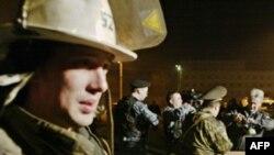 Пожар на российском складе боеприпасов