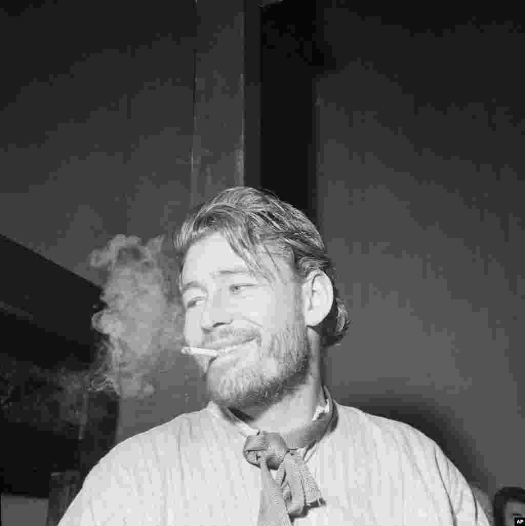 Peter O'Toole is seen in this undated photograph.