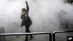 Протести в університетському містечку в Тегерані