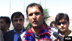 Afghan Cricket team return