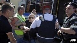 Задержание участников Дня гнева в Москве. 12 июня 2011г.