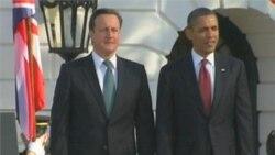 Obama, Cameron Hail 'Rock-Solid' US-UK Alliance