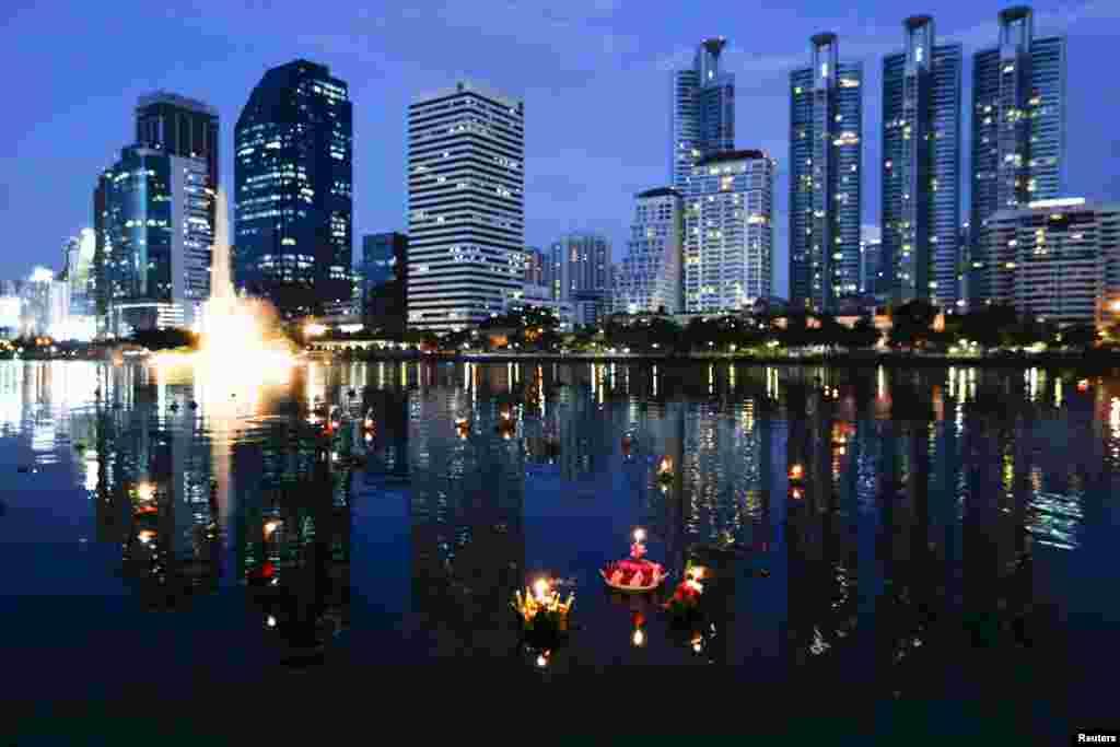 Festival lampiona u Bangkoku, prestonici Tajlanda.