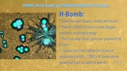 What's the Difference Between an Atomic Bomb and a Hydrogen Bomb?