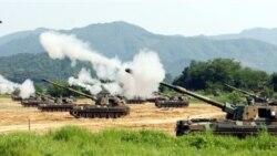ادامه تنش های نظامی در شبه جزیره کره