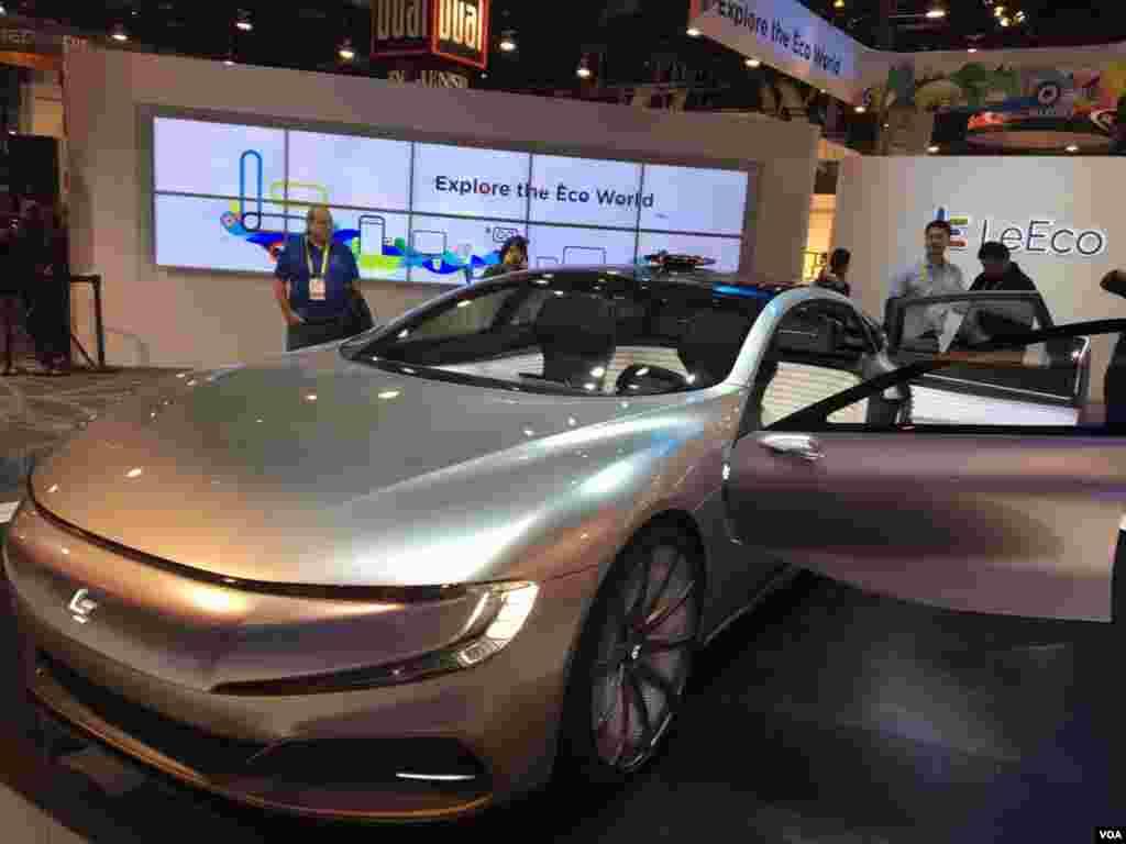 نمایشگاه محصولات الکترونیکی CES خودروی نسل آینده؛ نسل بعدی خودروهای دوستدار محیط زیست اِل اِکو
