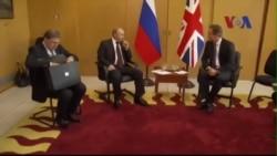 Tổng thống Nga gặp gỡ lãnh đạo phương Tây bên lề hội nghị G7