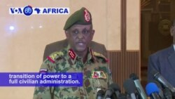 VOA60 Africa - Sudan: Army rulers and protest leaders agree on a transition period for transferring power to a full civilian administration