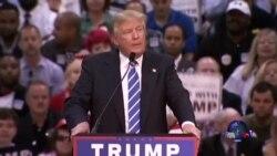 共和党总统竞选人川普抨击民主党首场辩论