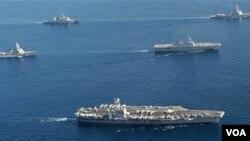 Latihan militer bersama Amerika dan Korea Selatan tetap dilakukan meski ada ancaman dari Pyongyang (foto: dok).