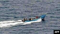 소말리아 아덴만의 해적선. (자료사진)