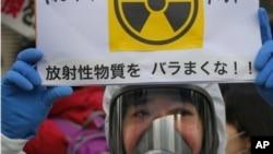 福島事件後越來越多反核示威