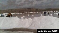Namibe espera produzir 150 toneladas de sal