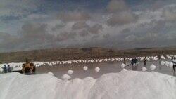 Namibe: Produtores de sal querem mais crédito bancário - 2:03