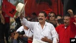 前總統塞拉亞返回洪都拉斯