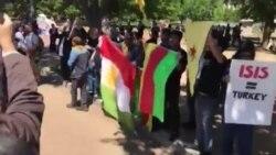 Эрдоган в Вашингтоне: протест и поддержка