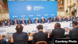 Mkutano kuhusu hali ya Somalia wafanyika mjini London Alhamisi, tarehe 11, Mei, 2017.