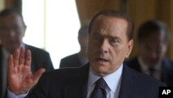 Italian Prime Minister Silvio Berlusconi (File Photo)