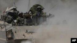 """El primer ministro israelí, Benjamin Netanyahu, afirmó que continuarán sus operaciones hasta garantizar """"la calma y la seguridad"""" de sus ciudadanos."""