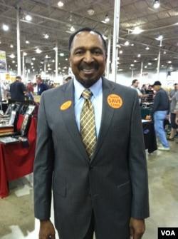 维吉尼亚州副州长竞选人杰克逊牧师(美国之音 亚微拍摄)