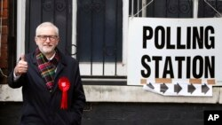 Elections législatives anticipées en Grande-Bretagne
