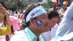 Protesters Demand Probe Into Cambodian Votes in First Day Protest