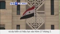 Syria chấp nhận kế hoạch ngưng bắn Mỹ-Nga (VOA60)