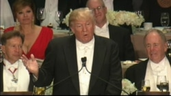 Trump Joke About Melania's RNC Speech at Alfred Smith Charity Dinner