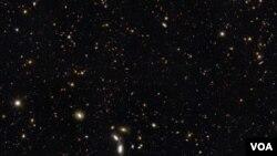La UDFy-38135539 es la galaxia más pequeña y más lejana que existe en el cosmos.