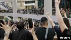 Protestos a favor da democracia em Hong Kong