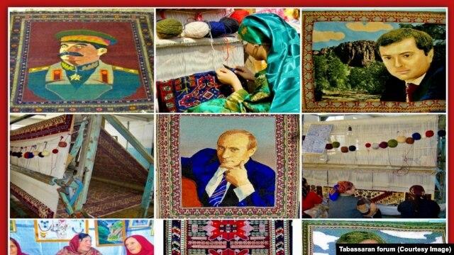 Дагестан, ковры работы табасаранских мастериц
